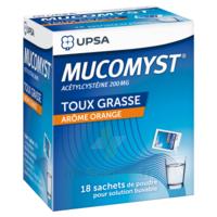 Mucomyst 200 Mg Poudre Pour Solution Buvable En Sachet B/18 à SAINT-JEAN-DE-LIVERSAY