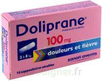 Doliprane 100 Mg Suppositoires Sécables 2plq/5 (10) à SAINT-JEAN-DE-LIVERSAY
