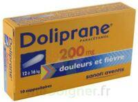Doliprane 200 Mg Suppositoires 2plq/5 (10) à SAINT-JEAN-DE-LIVERSAY