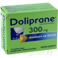 Doliprane 300 Mg Poudre Pour Solution Buvable En Sachet-dose B/12 à SAINT-JEAN-DE-LIVERSAY