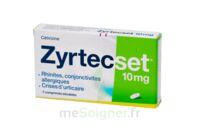 Zyrtecset 10 Mg, Comprimé Pelliculé Sécable à SAINT-JEAN-DE-LIVERSAY