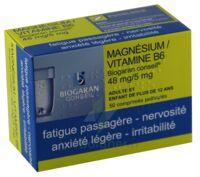 Magnesium/vitamine B6 Biogaran Conseil 48 Mg/5 Mg, Comprimé Pelliculé à SAINT-JEAN-DE-LIVERSAY