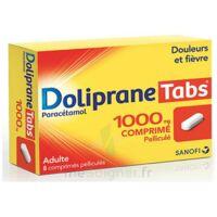 Dolipranetabs 1000 Mg Comprimés Pelliculés Plq/8 à SAINT-JEAN-DE-LIVERSAY
