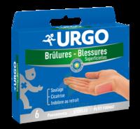 Urgo Brulures-blessures Petit Format X 6 à SAINT-JEAN-DE-LIVERSAY
