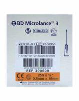 Bd Microlance 3, G25 5/8, 0,5 Mm X 16 Mm, Orange  à SAINT-JEAN-DE-LIVERSAY