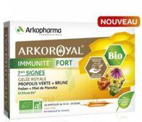 Arkoroyal Immunité Fort Solution Buvable 20 Ampoules/10ml à SAINT-JEAN-DE-LIVERSAY