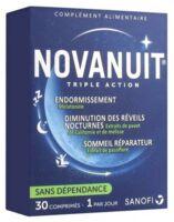 Novanuit Triple Action Comprimés B/30 à SAINT-JEAN-DE-LIVERSAY