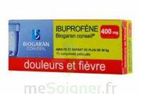 Ibuprofene Biogaran Conseil 400 Mg, Comprimé Pelliculé à SAINT-JEAN-DE-LIVERSAY
