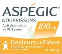 Aspegic Nourrissons 100 Mg, Poudre Pour Solution Buvable En Sachet-dose à SAINT-JEAN-DE-LIVERSAY