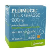 Fluimucil Expectorant Acetylcysteine 200 Mg Sans Sucre, Granulés Pour Solution Buvable En Sachet édulcorés à L'aspartam Et Au Sorbitol à SAINT-JEAN-DE-LIVERSAY
