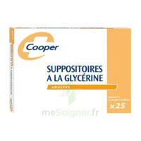 Suppositoires A La Glycerine Cooper Suppos En Récipient Multidose Adulte Sach/25 à SAINT-JEAN-DE-LIVERSAY