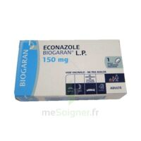 Econazole Biogaran L.p. 150 Mg, Ovule à Libération Prolongée à SAINT-JEAN-DE-LIVERSAY