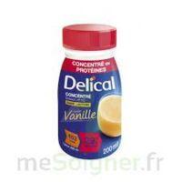 Delical Boisson Hp Hc Concentree Nutriment Vanille 4bouteilles/200ml à SAINT-JEAN-DE-LIVERSAY