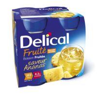 Delical Boisson Fruitee Nutriment Ananas 4bouteilles/200ml à SAINT-JEAN-DE-LIVERSAY