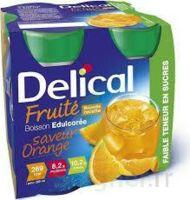 Delical Boisson Fruitee Nutriment édulcoré Orange 4bouteilles/200ml à SAINT-JEAN-DE-LIVERSAY