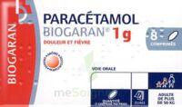 Paracetamol Biogaran 1 G, Comprimé Fl/8 à SAINT-JEAN-DE-LIVERSAY