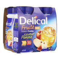 Delical Boisson Fruitee Nutriment Pomme 4bouteilles/200ml à SAINT-JEAN-DE-LIVERSAY