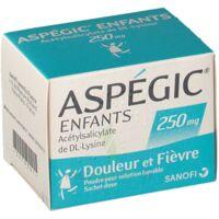 Aspegic Enfants 250, Poudre Pour Solution Buvable En Sachet-dose à SAINT-JEAN-DE-LIVERSAY