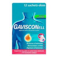 Gavisconell Suspension Buvable Sachet-dose Menthe Sans Sucre 12sach/10ml à SAINT-JEAN-DE-LIVERSAY