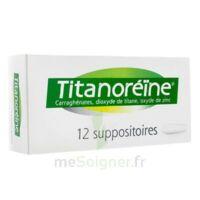 Titanoreine Suppositoires B/12 à SAINT-JEAN-DE-LIVERSAY