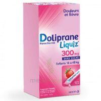 Dolipraneliquiz 300 Mg Suspension Buvable En Sachet Sans Sucre édulcorée Au Maltitol Liquide Et Au Sorbitol B/12 à SAINT-JEAN-DE-LIVERSAY
