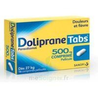 Dolipranetabs 500 Mg Comprimés Pelliculés Plq/16 à SAINT-JEAN-DE-LIVERSAY