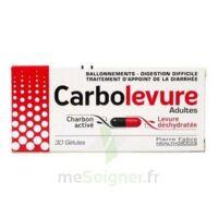 Carbolevure Gélules Adulte Plq/30 à SAINT-JEAN-DE-LIVERSAY