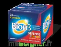 Bion 3 Défense Junior Comprimés à Croquer Framboise B/30 à SAINT-JEAN-DE-LIVERSAY