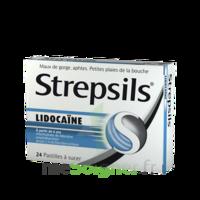 Strepsils Lidocaïne Pastilles Plq/24 à SAINT-JEAN-DE-LIVERSAY