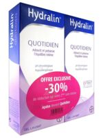 Hydralin Quotidien Gel Lavant Usage Intime 2*400ml à SAINT-JEAN-DE-LIVERSAY