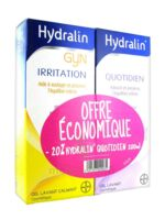 Hydralin Quotidien Gel Lavant Usage Intime 200ml+gyn 200ml à SAINT-JEAN-DE-LIVERSAY
