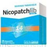 Nicopatchlib 14 Mg/24 H Dispositifs Transdermiques B/28 à SAINT-JEAN-DE-LIVERSAY