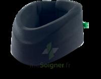 Cervix 2 Collier Cervical Semi-rigide Noir/vert H9cm T2 à SAINT-JEAN-DE-LIVERSAY
