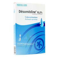 Desomedine 0,1 % Collyre Sol 10fl/0,6ml à SAINT-JEAN-DE-LIVERSAY