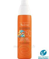Avène Eau Thermale Solaire Spray Enfant 50+ 200ml à SAINT-JEAN-DE-LIVERSAY
