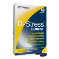 D-stress Sommeil Comprimés B/40 à SAINT-JEAN-DE-LIVERSAY