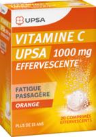 Vitamine C Upsa Effervescente 1000 Mg, Comprimé Effervescent à SAINT-JEAN-DE-LIVERSAY