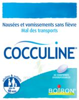 Boiron Cocculine Comprimés Orodispersibles B/40 à SAINT-JEAN-DE-LIVERSAY